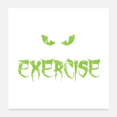 Exercise Shortest Horror Story Exercise - Poster