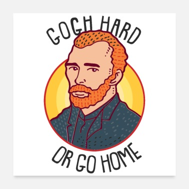Art Teacher Art Humor Vincent Van Gogh Artist Art Teacher - Poster