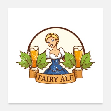 Dirndl Fairy Ale - Poster
