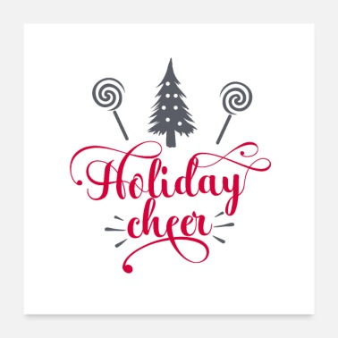 Cheers Holiday Cheer - Poster
