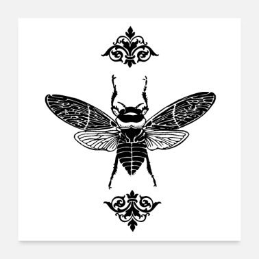 Ornamental Ornamental Bee - Poster