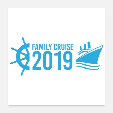 Family Vacation Family Cruise 2019 Vacation Cruise Ship Gift Idea - Poster