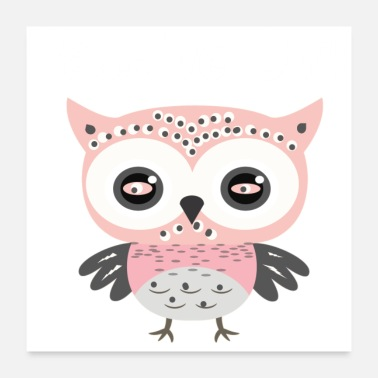Owl Lovers PASSIVE OWL - Poster