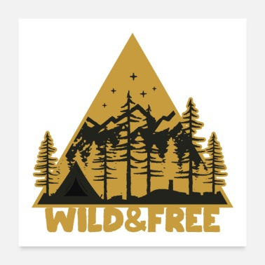 Wild Guy Wild and Free - Poster