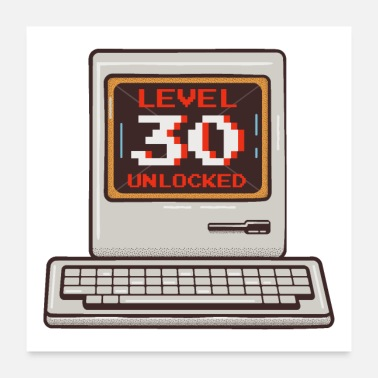 Pc Old PC Level 30 Unlocked - Poster
