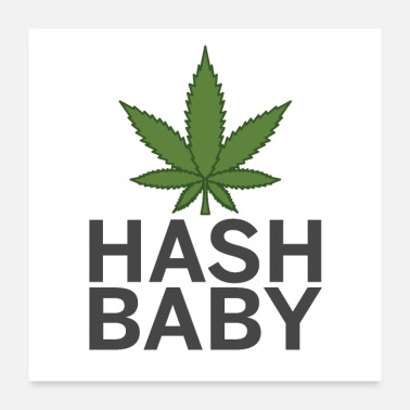 hash baby - Poster