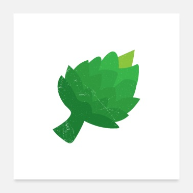 Vegetables Fruit Vegetable Artichoke Gift Idea - Poster