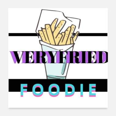 Hunger Verified foodie - Poster