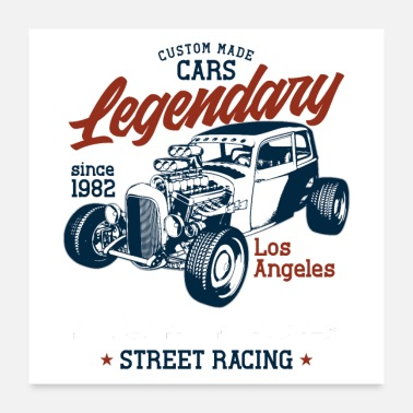 Legendary Legendary Custom made Cars - Poster