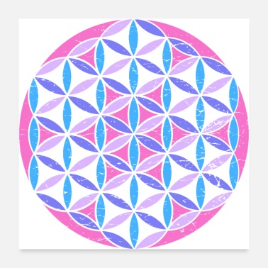 Flower Of Life Sacred Geometry Flower of Life - Poster