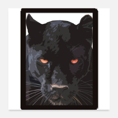 Tiger Black Panther - Poster