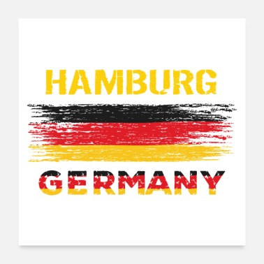 Germany Hamburg Germany - Poster