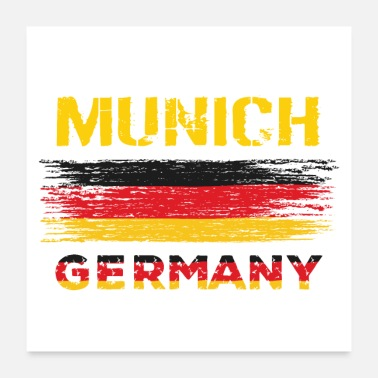 Germany Munich Germany - Poster