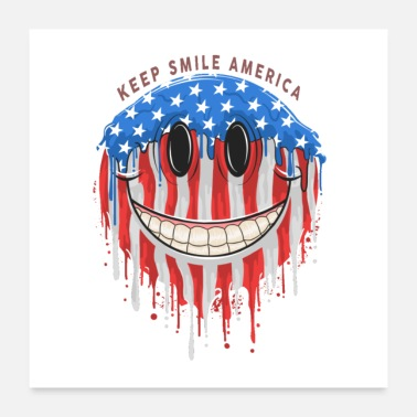 Democracy smile - Poster