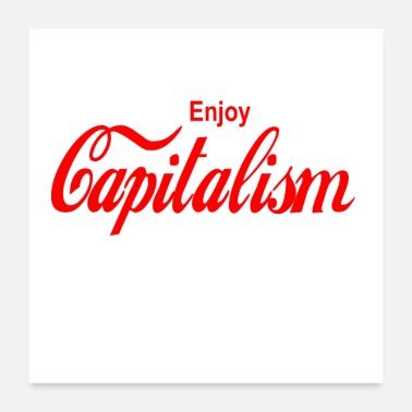 Euro enjoy capitalism - Poster