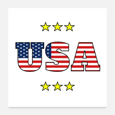 Patriot USA Patriotism Gift - Poster