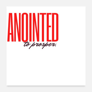 Wealthy Anointed to Prosper - Poster