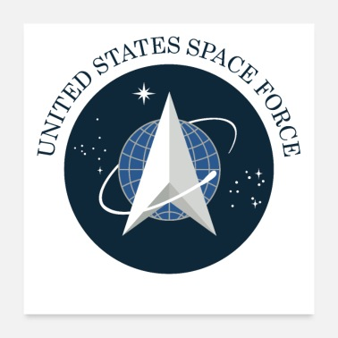 Force united states space force - Poster