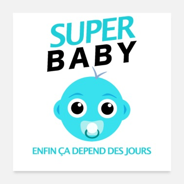 Baby Bump super baby - Poster