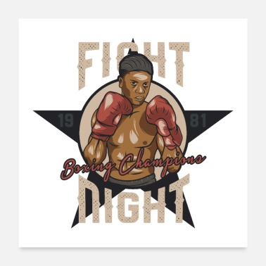 Knock Out Fight Night Boxing Champions - Poster