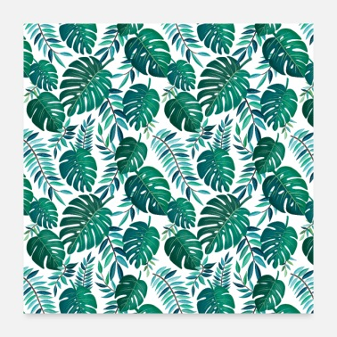 Palm Trees Tropical pattern for your life style - Poster
