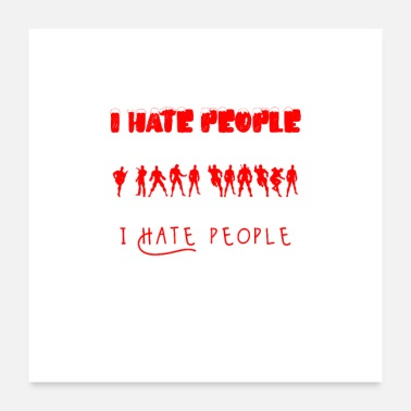 Breakup I hate people - Poster