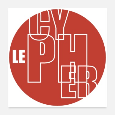 Classic Hip Hop #LeCypher - Poster