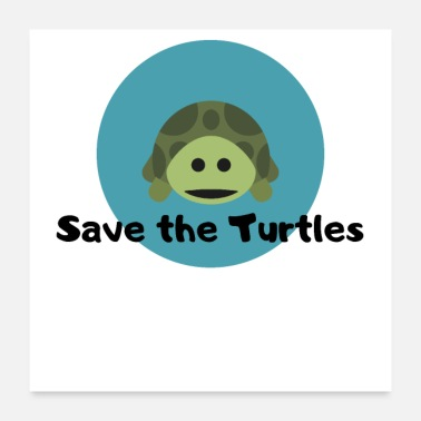Save Save the Turtles - Poster