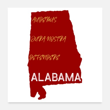 States State of Alabama - Poster