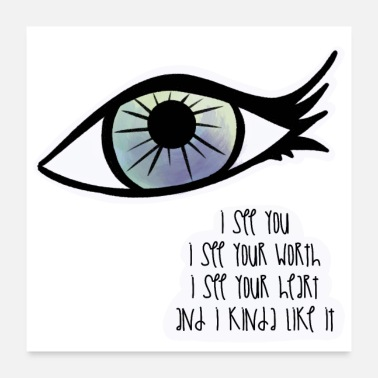 Seeing I See You / Care - Poster