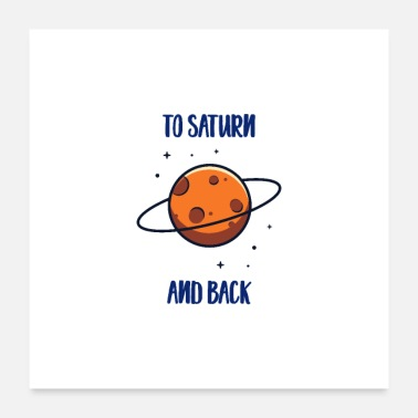 Mercury To Saturn And Back - Poster