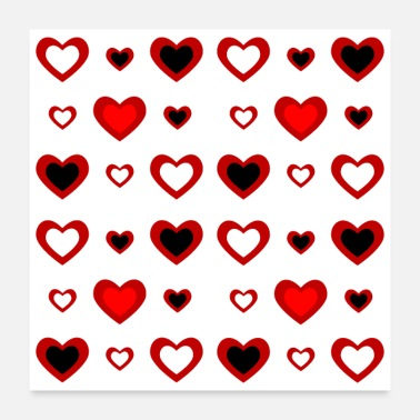 Decoration Heart decoration - Poster