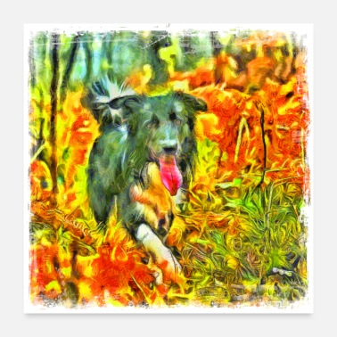 Image Pet Dog and Puppy Pictures, Colorful Cute and - Poster