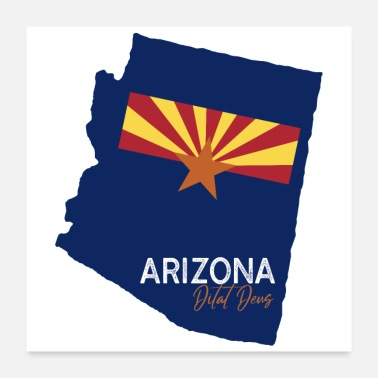 States State of Arizona - Poster