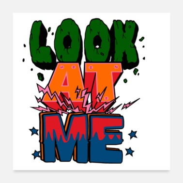I Am Awesome Look at me - Poster