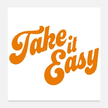 Take Take it easy - Poster