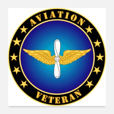 Us Army Veteran Army Aviation Veteran - Poster