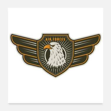 Airforce Air Force Wings - Poster