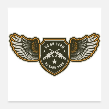 Airforce Air Force Riffles Shield - Poster