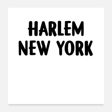 5 Boroughs Harlem New York - Poster