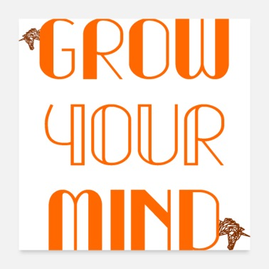 Restarted grow your mind - Poster