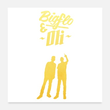Rap Rap band BigFlo Oli - Poster