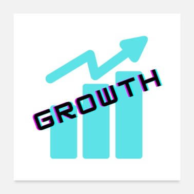 Illustration Growth Illustration - Poster