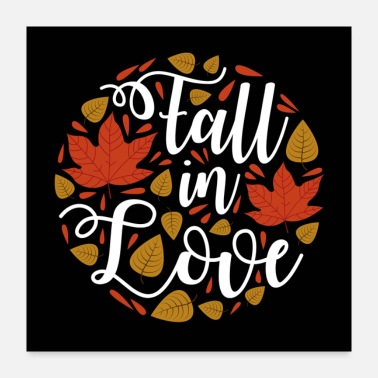 Fall Fall in love - Poster