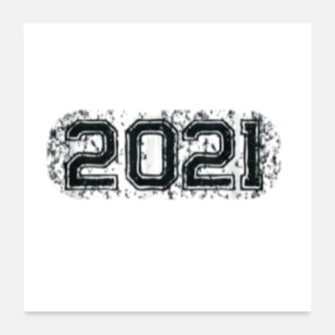 Highschool senior 2021 Graduation Class of 2021 Gift Essentia - Poster
