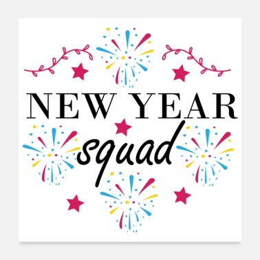 Girl Squad New Year Squad - Poster