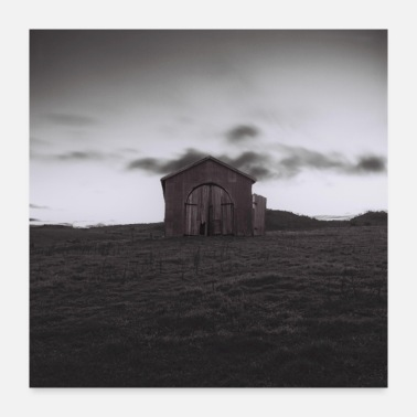 Meadow shed - Poster