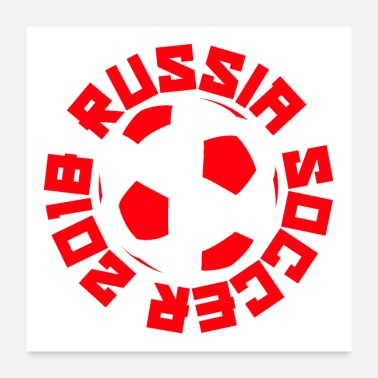 Russia Russia Soccer 2018 - Poster 24x24