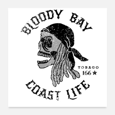 Bloody Bloody Bay - Coast Life - Poster