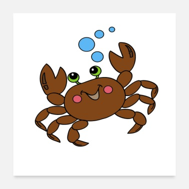 Artubble Crab 3 Poster - Poster